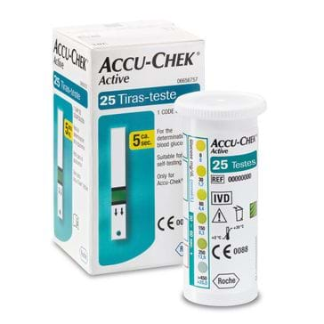 Accu-Chek Active com 25 Tiras Teste