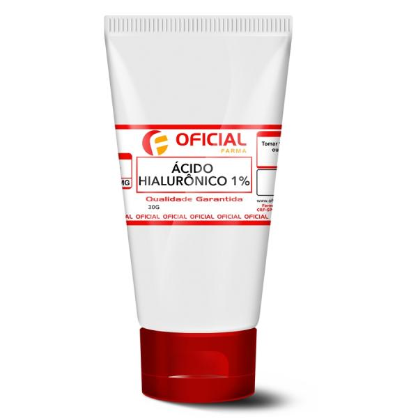 Ácido Hialurônico 1 Gel Creme 30g - Oficialfarma S