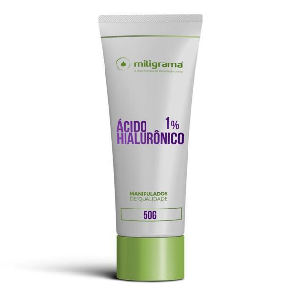 Ácido Hialurônico 1% Gel Creme 50g - Miligrama
