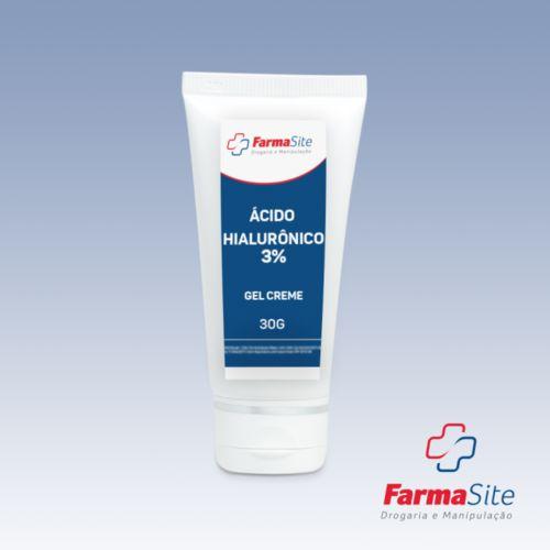 Ácido Hialurônico 3% Gel Creme 30g