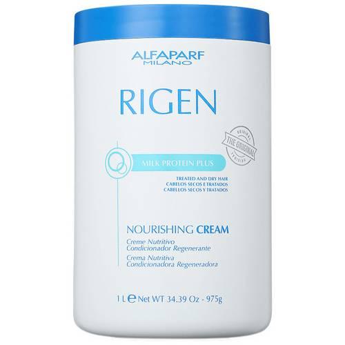 Alfaparf Rigen Milk Protein Plus Nourishing Cream - Máscara de Tratamento 1Kg
