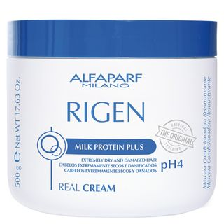 Alfaparf Rigen Real Cream Ph4 - Máscara Condicionadora Reestruturante 500g