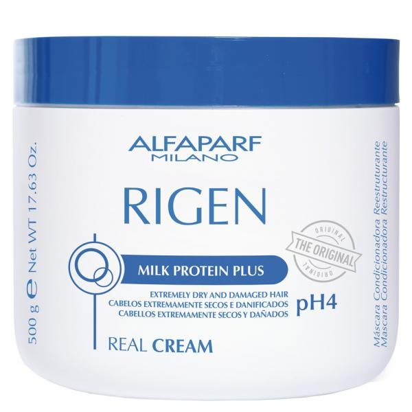 Alfaparf Rigen Real Cream Ph4 - Máscara Condicionadora Reestruturante