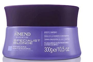 Amend Specialist Blond Matizador - Máscara 300 G