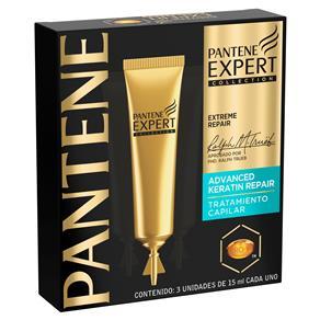 Ampola Pantene Expert Keratin Repair 15ml – 3 Unidades