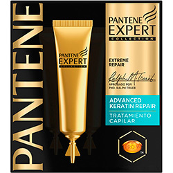 Ampola Pantene Expert Keratin Repair - 3 Unidades