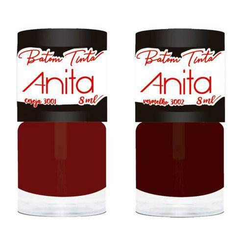 Anita Batom Tinta com 2: Cereja + Vermelho