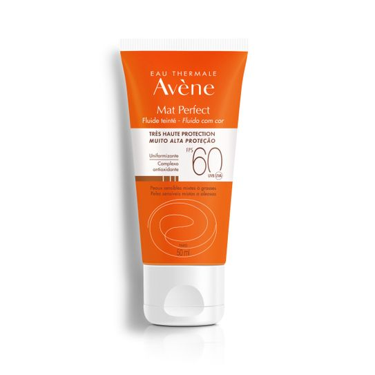 Avene Fluido Mat Perfect Fps60 com Cor 50ml