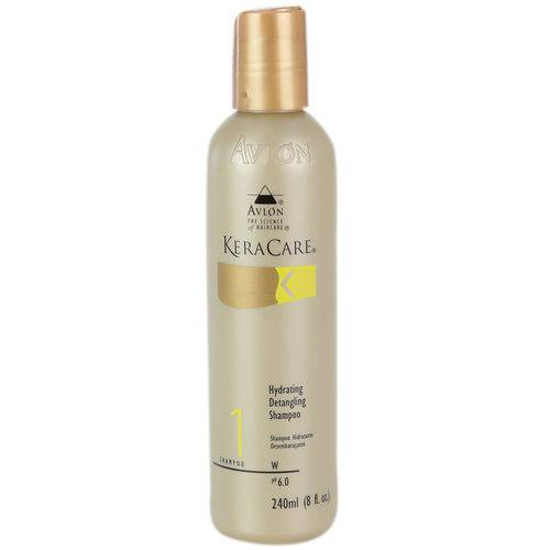 Avlon Keracare Hydrating Detangling Shampoo 240ml - Fab Avlon Cosméticos