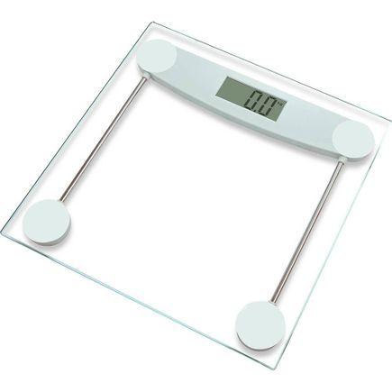 Balança Pessoal Digital - Supermedy - Glass
