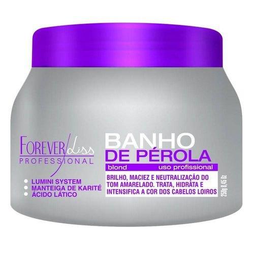 Banho de Pérola Loiro Radiante Forever Liss 250g