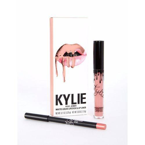 Kit Batom e Lápis Kylie Jenner Lipsticks Matte Koko K