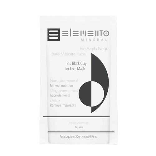 Bio Argila Elemento Mineral Negra