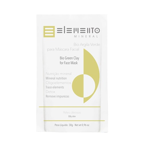 Bio Argila Elemento Mineral Verde