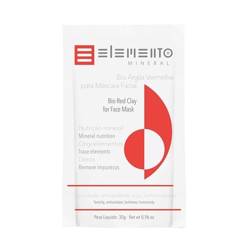 Bio Argila Elemento Mineral Vermelha