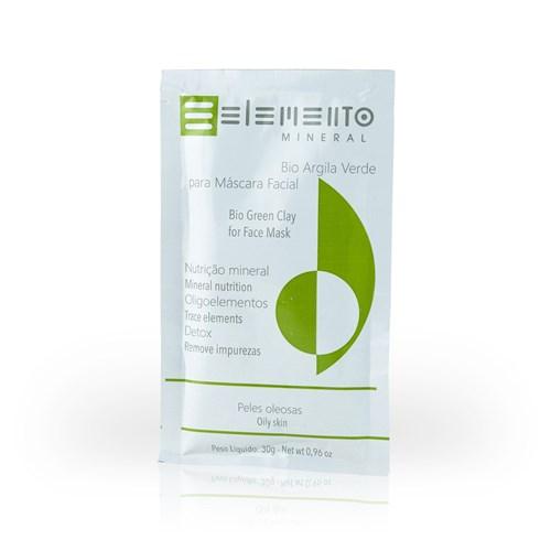 Bio Argila Verde 30g Elemento Mineral