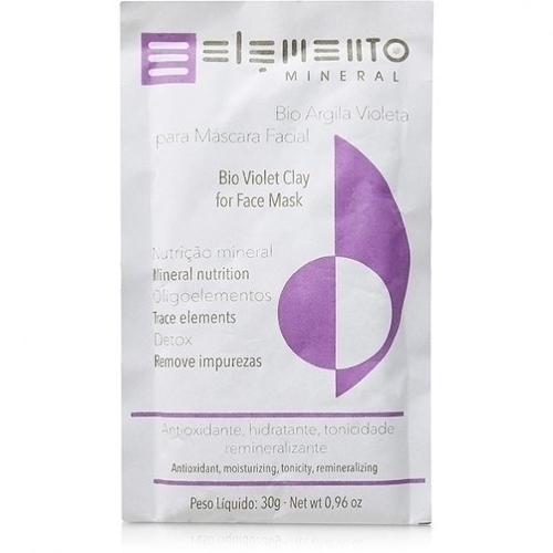 Bio Argila Violeta 30g Elemento Mineral