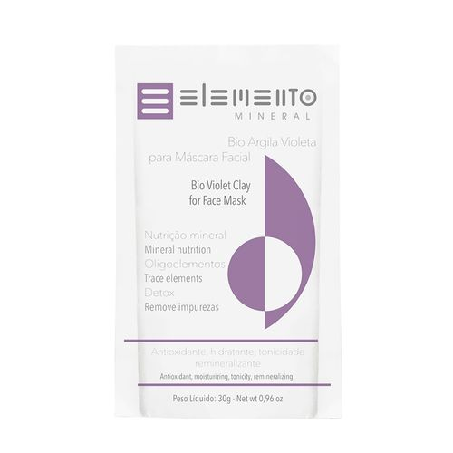 Bio Argila Violeta Elemento Mineral 30g