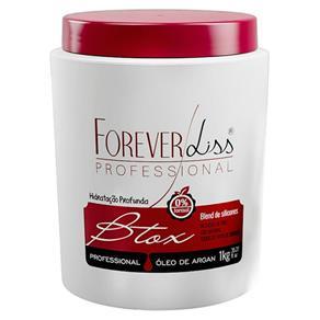 Botox Capilar Argan Forever Liss 0% Formol Sem Frizz