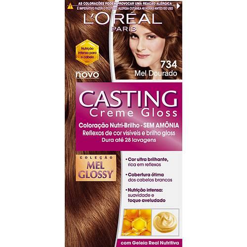 Casting Creme Gloss 734 Mel Dourado - L'oreal