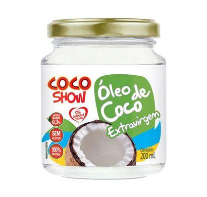 Coco Show Óleo de Coco Extravirgem 200ml - Copra