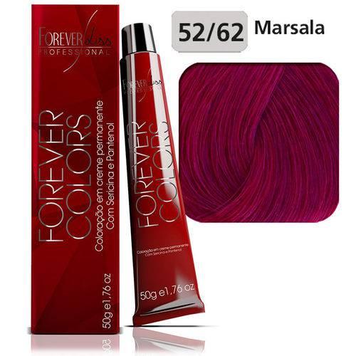 Coloração Forever Colors - Vermelho Especial 52-62 Castanho Violeta Marsala