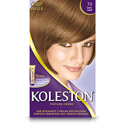 Coloração Koleston Kit 73 Louro Avelã - Wella