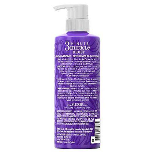Condicionador Aussie 3 Minute Miracle Moist 475ml