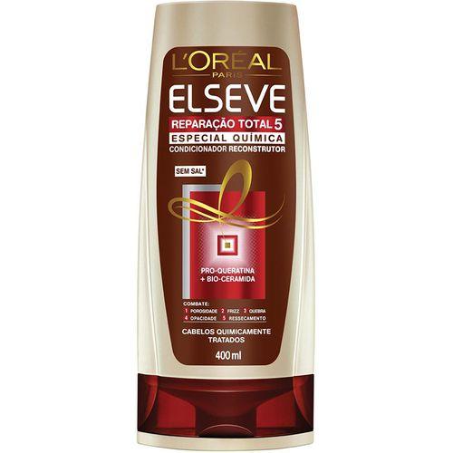 Condicionador L Oréal Elseve Reparação Total 5 Química 400ml