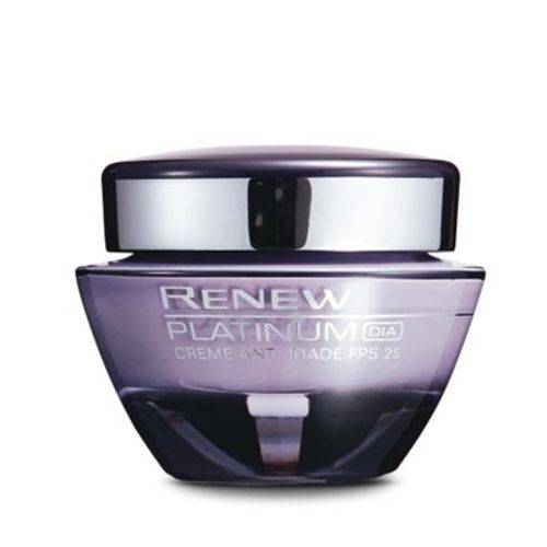 Creme Anti-idade Renew Platinum 60+ | Dia Fps 25 50g