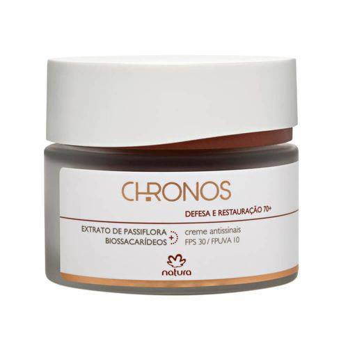 Creme Antissinais 70+ Dia FPS30 Chronos