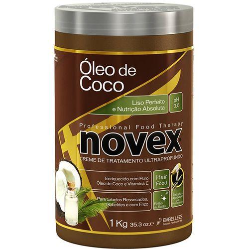 Creme de Tratamento Cabelo Novex Profissional Therapy Óleo de Coco 1kg