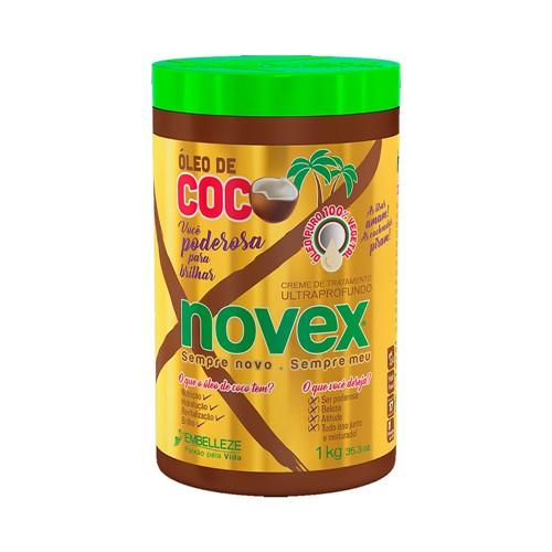 Creme de Tratamento NovexÓleo de Coco 1000g