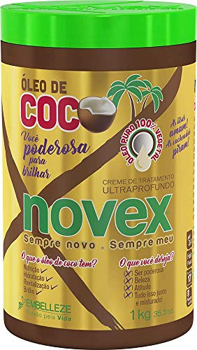 Creme de Tratamento Óleo de Coco 1 Kg, Novex