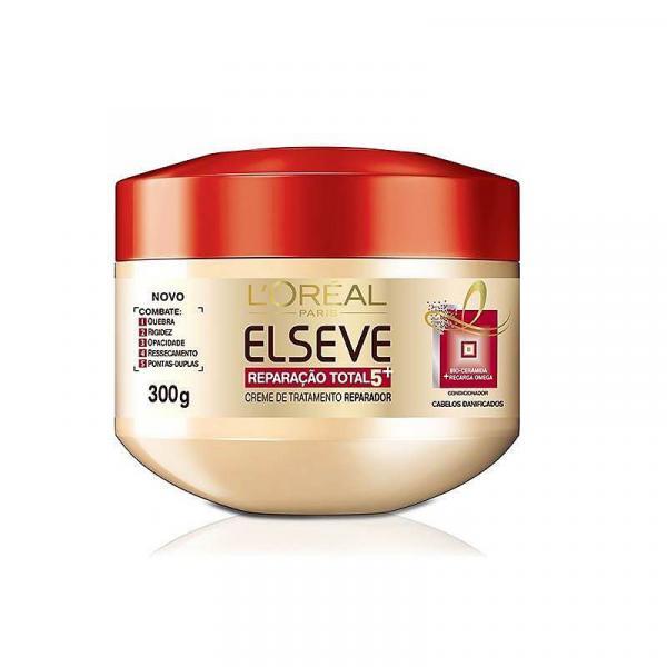 Creme de Tratamento Reparação Total 5+ 300g - Elséve LOreal Paris