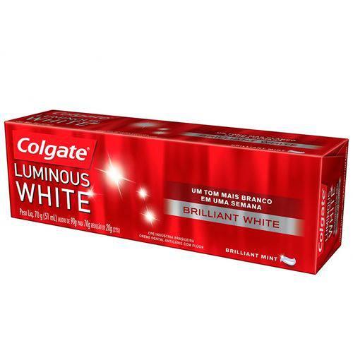 Creme Dental Colgate Luminous White 70g
