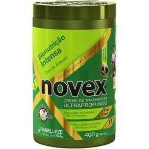 Creme Tratamento Novex Óleo de Abacate 400Ml