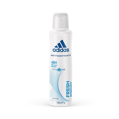Desodorante Aerosol Adidas Feminino Fresh 150ml
