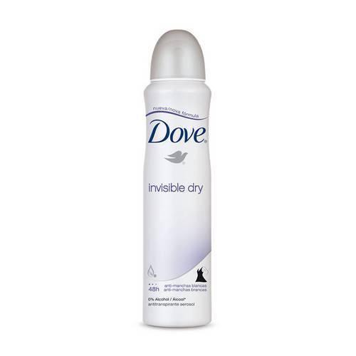 Desodorante Aerosol Dove Invisible Dry com 100 Gramas