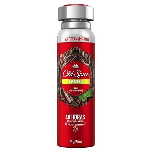 Desodorante Aerosol Old Spice Lenha 93g