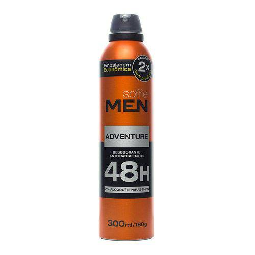 Desodorante Antitranspirante Soffie Adventure 300ml