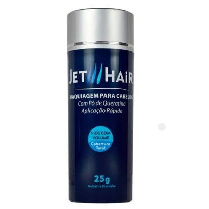 Disfarce para a Calvície Jet Hair Maquiagem para Cabelos - Castanho Escuro