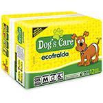 Ecofralda Descartável com Gel 12 Unidades Macho M (cintura de 33 a 53cm)- Dog's Care