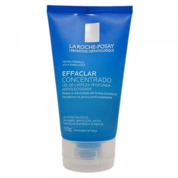 Effaclar Gel Concentrado de Limpeza Facial La Roche-Posay 150g - La Roche Posay