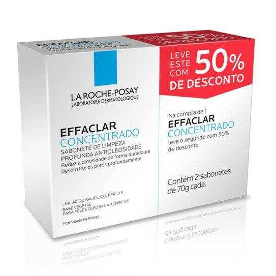 Effaclar Sabonete Concentrado 70g com 50% Desconto na 2ª Unidade