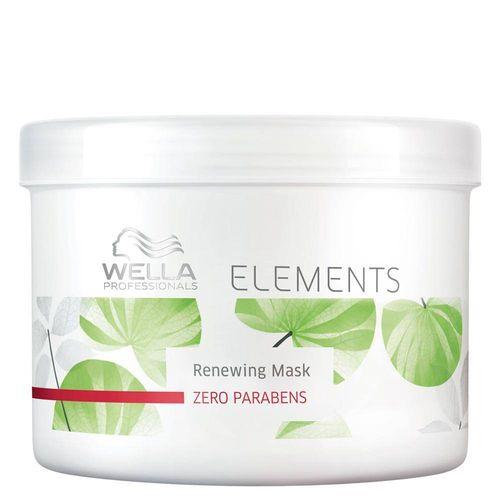 Elements Renewing Mask Wella - Máscara Reconstrutora 500g