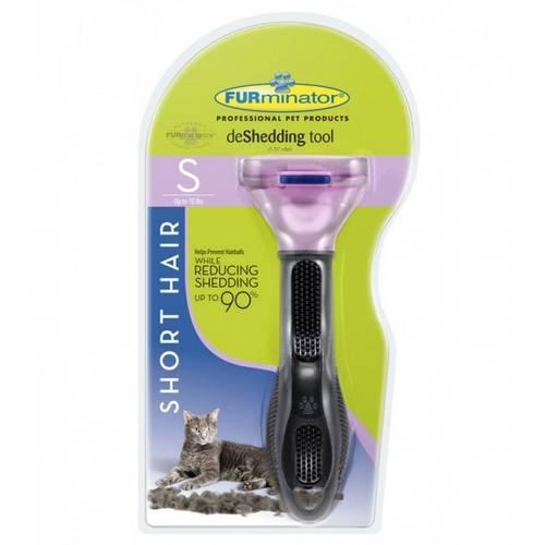 Escova Furminator para Gatos Pequenos com Pelo Curto