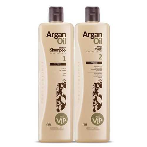 Escova Progressiva Vip Argan Oil 2x1000ml
