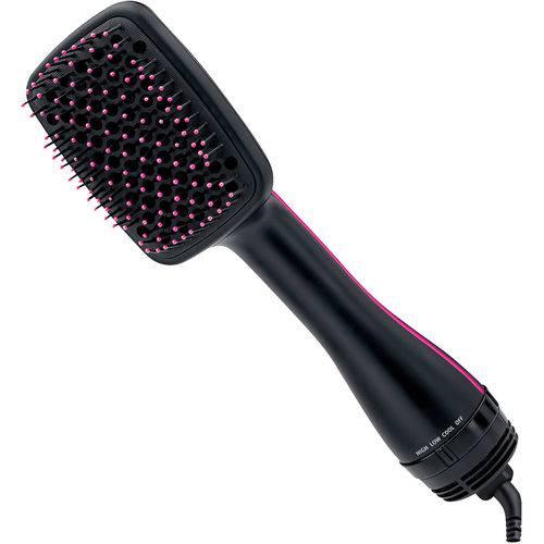 Escova Secadora Alisadora Almofadada Hair Dryer com Cabo Giratório 360º