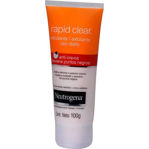 Esfoliante Anti-Cravos Neutrogena Rapid Clear 100g